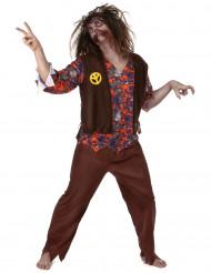 Zombie Hippie Kostüm für Herren