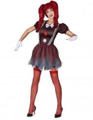 Schaurige Puppe Kostüm für Damen