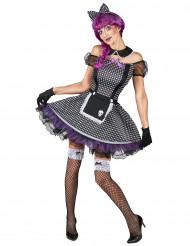 Kostüm Gotikpuppe für Damen