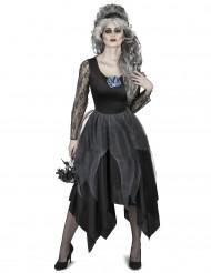 Düstere Braut Kostüm für Damen