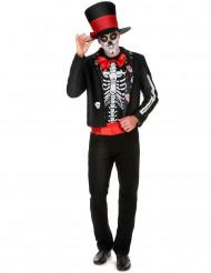 Skelett Kostüm für Herren Dia de los Muertos