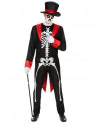 Schickes Skelettkostüm für Herren