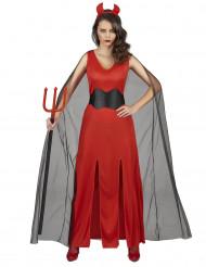 Dämonenhaftes Kostüm für Damen