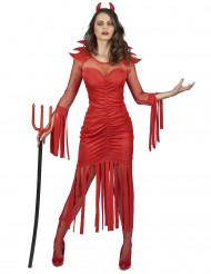 Feuerdämon Kostüm für Damen