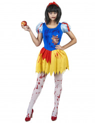 Veriftete und blutende Prinzessin Kostüm für Damen