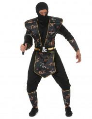 Ninja Kostüm für Herren bunt