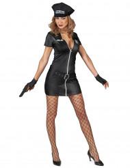 Freche Polizistin Kostüm für Damen