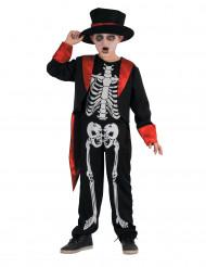 schickes Skelettkostüm für Jungen