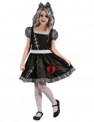 Puppenkostüm gebrochenes Herz für Mädchen...