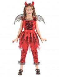 Feuerdämon Kostüm für Mädchen