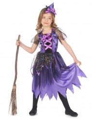 Mädchen - Hexenkostüm mit Sternenstaub