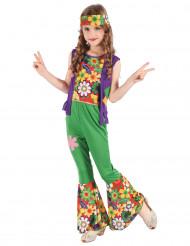 Hippie Kostüm Flower Power für Mädchen