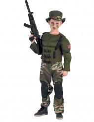 Kostüm amerikanischer Soldat für Jungen