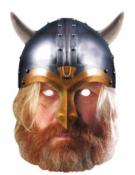 Maske Karton Wikinger