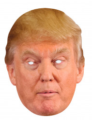 Donald Trump Pappkarton Maske