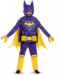 Batgirl LEGO® Movie Lizenzkostüm für Kinder gelb-violett-schwarz