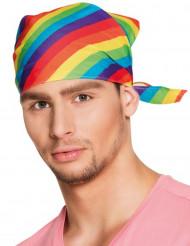 Regenbogen Bandana für Erwachsene bunt