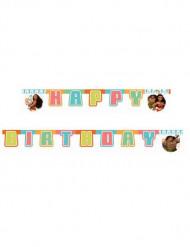 Vaiana™ Happy Birthday Girlande 1.95m