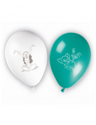 8 Luftballons mit Vaiana™ Aufdruck