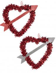 Valentins-Herz zum Aufhängen