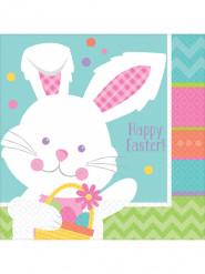 16 Papierservietten für Ostern