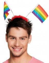 Regenbogen-Fahnen für Erwachsene bunt