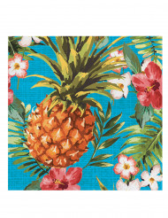 16 Servietten Hawaii-Look 33 x 33 cm