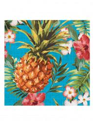 16 Servietten Hawaii-Look 33 x 33 cm