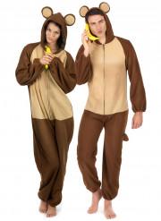 Paarkostüm Affe für Erwachsene