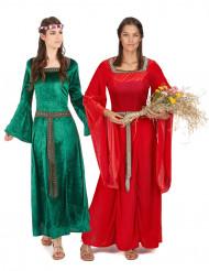 Paarkostüm Mittelalter für Damen