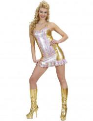 Holografisches buntes Kostüm für Damen