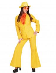 Kostüm Dame in Gelb
