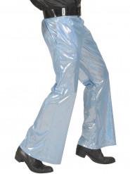 Holografische Hose blau für Herren