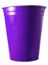 20 Partybecher 53cl violett