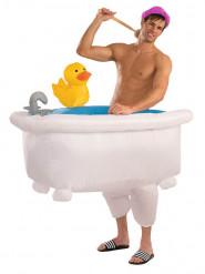 Lustiges Badewanne-Kostüm für Erwachsene