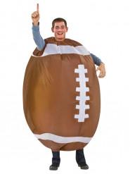 Aufblasbarer Football Kostüm für Erwachsene