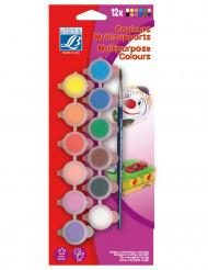 Palette mit 12 Farben Lefranc & Bourgois ®