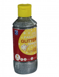 Lefranc & Bourgeois® Gel Silber -glitzernd 250 ml