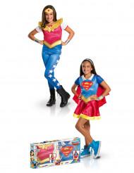 Supergirl™-Kostüm-Box für Mädchen Wonder Woman™bunt