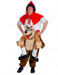 Rotkäppchen Kostüm für Erwachsene