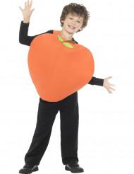 Pfirsich Kostüm für Kinder