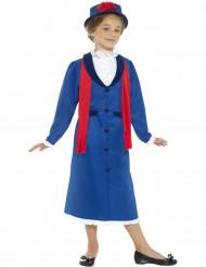 Englisches Kindermädchen Kostüm für Mädchen