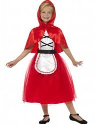 Rotkäppchen-Kostüm mit Umhang Mädchen