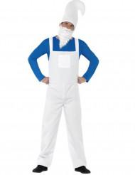 Zwerg Kostüm für Erwachsene blau-weiß