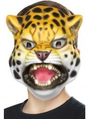 Maske Leopardenkopf Kinder