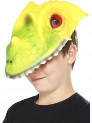 Maske Krokodilkopf Kinder