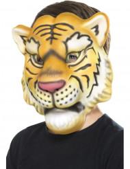 Maske Tigerkopf Kinder