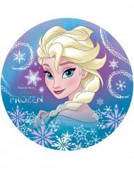 Essbarer Kuchenaufleger Elsa Frozen™