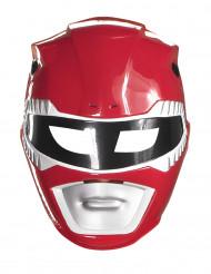 Maske Power Rangers™ rot für Kinder