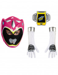 Set Power Rangers™ rosa für Kinder